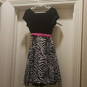 Girls size 8 Party Dress.